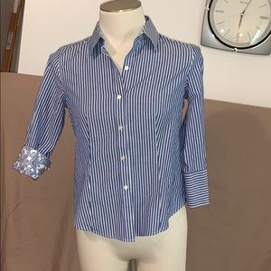Talbots Button Down Shirt